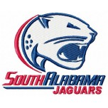 South Alabama Jaguars logo machine embroidery design for instant download